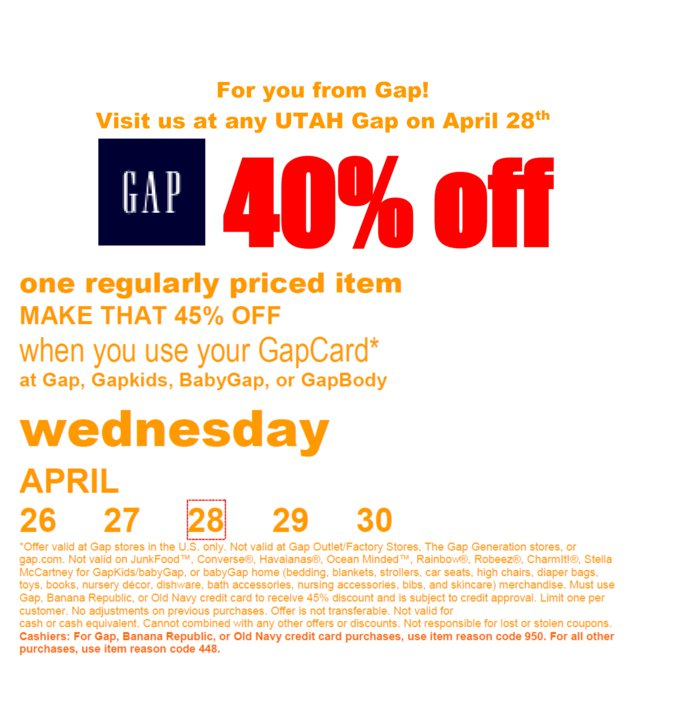 Coupon discount gap