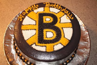 The Pospolita Project Boston Bruins Cake