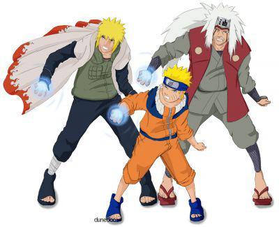 Défi 30 jours d'animés - Page 3 Naruto+1
