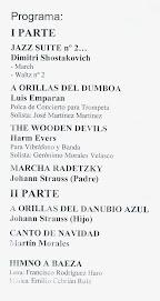 BANDA DE MÚSICA DE BAEZA - Director: MARTÍN MORALES LOZANO