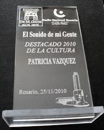 Premio: Destacado 2010 de la Cultura