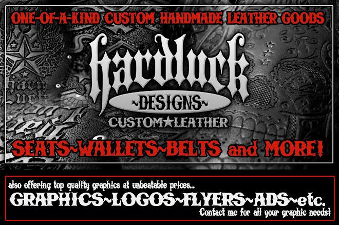 Hard Luck Designs Custom Leather