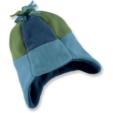 Keep his little cappy warm with the REI Fleece Peruvian Toddler Boys Hat, ...