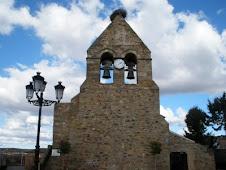 Brime de Urz.- Torre de la iglesia parroquial_abril 2009