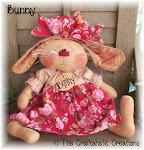 "Bunny ~ 12"" doll"