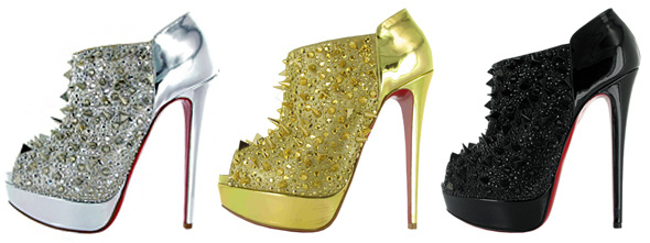 Nicki Minaj On Ellen Shoes. Nicki Minaj Spiked Shoes On