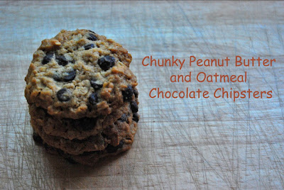 ... all things nice: Chunky Peanut Butter and Oatmeal Chocolate Chipsters
