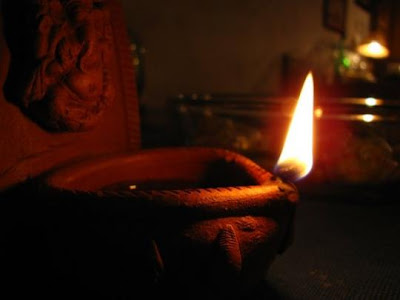deepawali earthen lamp wishes