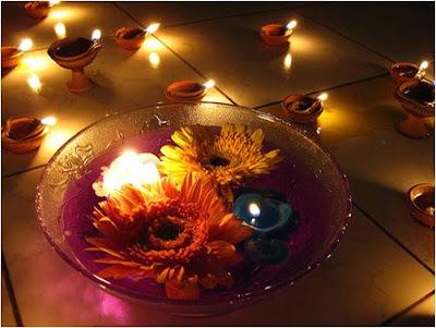 Diwali Earthen Diyas Card