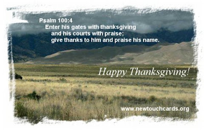 Inspirational Thanksgiving Cards