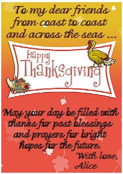 Thanksgiving Cards May 2010