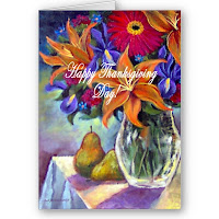 Hand Painted Thanksgiving Cards