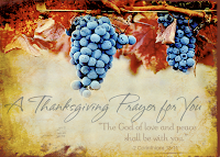 thanksgiving prayer for you