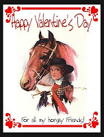 Horse Valentine Cards