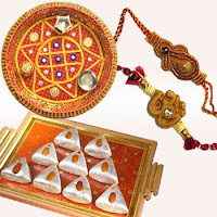 send diwali puja thali gifts