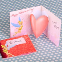 Disney Valentines Printable Greeting Card