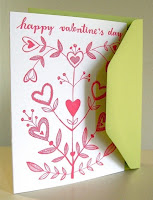 make your own valentine card at home