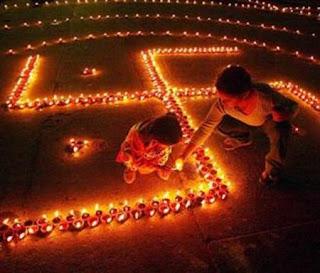 Diwali Swastika Picture