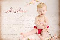 valentine babies cards
