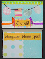 Diwali Cards made at Home