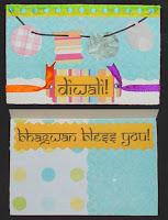 Diwali Cards made at Home