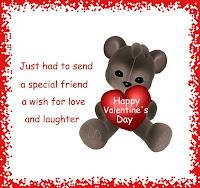 valentines day wish card