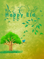 eid wishes with family tree