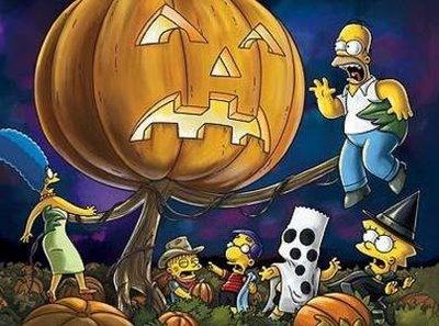 Simpson Halloween Wallpaper