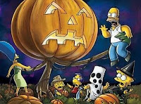 Simpsons Halloween Wallpaper
