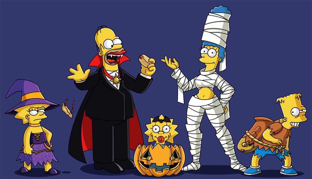 Download Simpsons Halloween Wallpapers