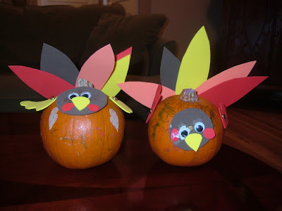 Thanksgiving Turkey Crafts
