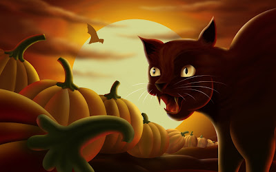 Happy halloween cat wallpapers