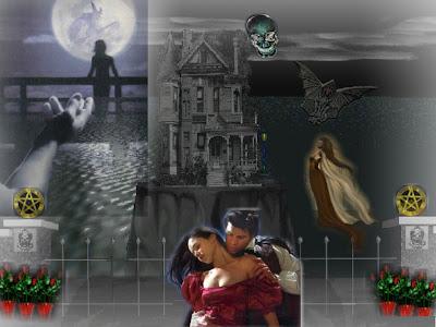 Terror On Halloween Wallpaper