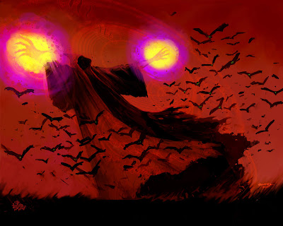 Free Halloween Bats Graphic