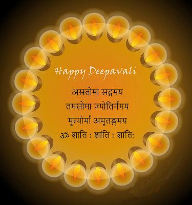 Deepawali Festival Card