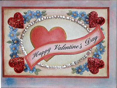 Victorian Valentine Greeting Cards