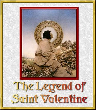 Saint Valentine Day Card