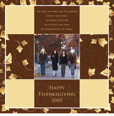 Thanksgiving Photo ECards