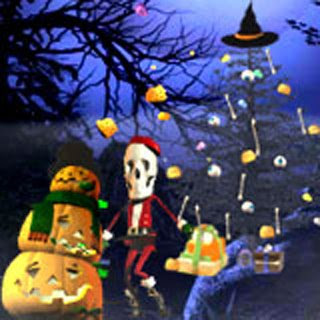 Christmas Halloween Wallpapers
