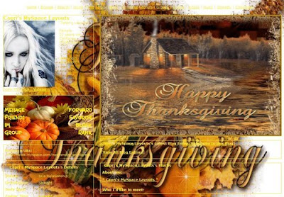 Autumn Thanksgiving Wallpaper