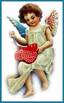 valentine cupid free vintage clip art