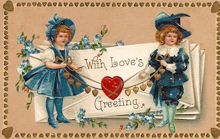 Valentine Greeting Postcard