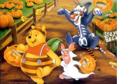 Winnie the Pooh Halloween Goodies