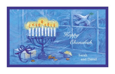 Clever image with free printable hanukkah cards