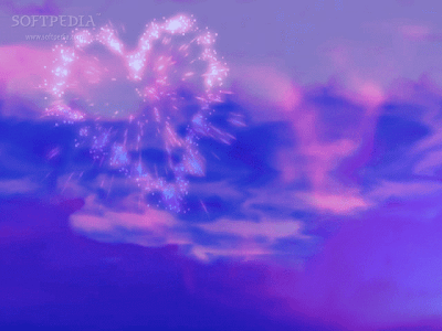 Download 3D Valentine Fireworks