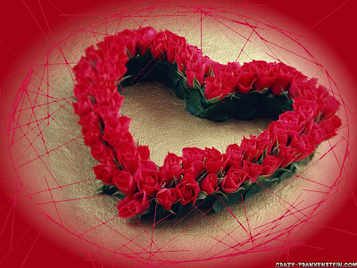 clipart hearts and roses. The hearts, roses, red color