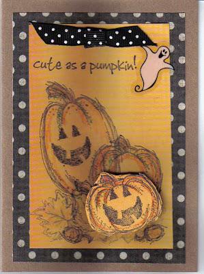 Elegant Handmade Halloween Cards