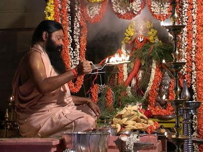 Diwali Aarti Card