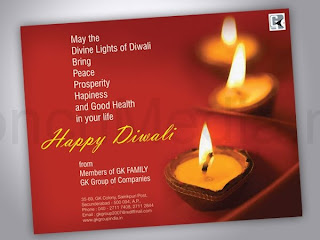 Diwali Invitations Greeting Cards