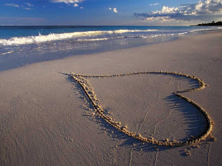 A Heart Traced in Sand